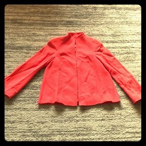 Escada hot pink coat size 36 (Us 6)